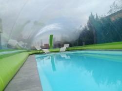 Abri de piscine bulle D.S.G.