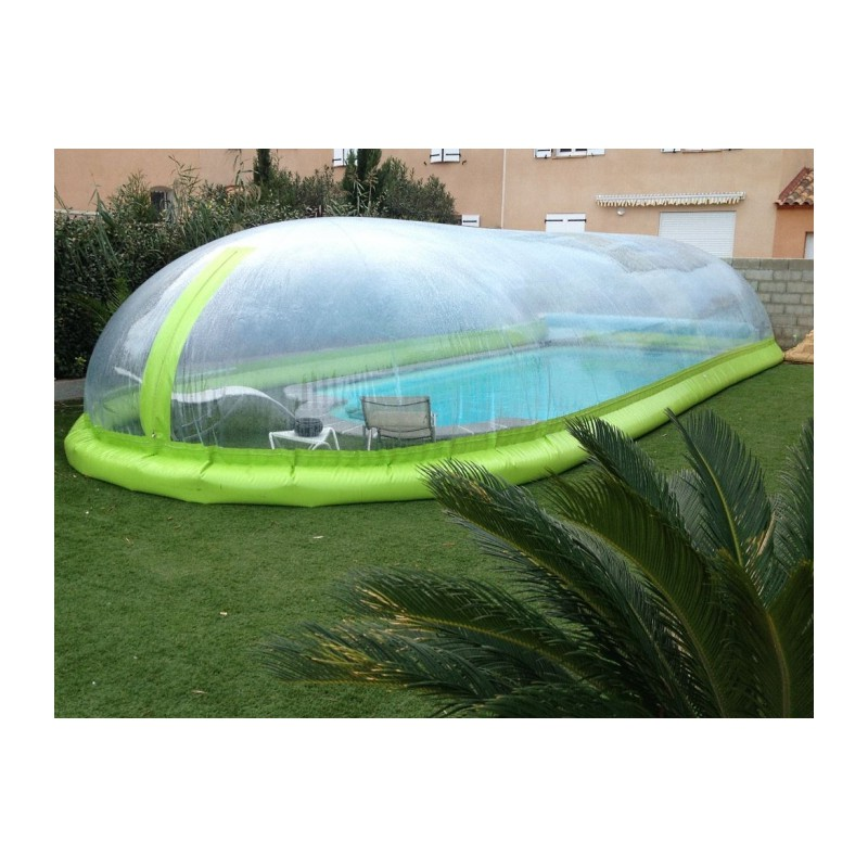 Dome piscine gonflable best abri piscine coulissant - Piscine a bulle gonflable ...