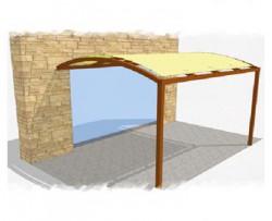 tonnelle 6x4 simple faites votre tente en pvc compltement tanche luair avec les cts latraux. Black Bedroom Furniture Sets. Home Design Ideas